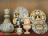 Decorative Italian Earthenware by Marquis Carlo Ginori by J B Waring