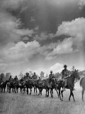 Cavalry in Maneuvers at Ft Francis Warren