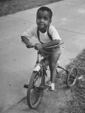 Little Boy on a Tricycle in the Sojourner Truth Housing Project