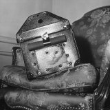 Cat in a Carrier During an Air Raid