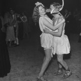Grecian Dancers Enjoying Themselves at the Chelsea Arts Ball