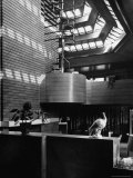 Interior of House Designed by Architect Frank Lloyd Wright