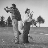 Trick Shot Champ Bob Geesey with Wife and Assistant