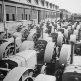 Tractors at Officine Meccaniche Company