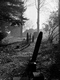 Gravestones in Cemetery  Ipswich  Mass