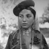 Close Up of Uighur Girl from Kashgar