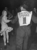 Couples Dancing the Jitterbug at the Paramount Dance Hall on Tottenham Court Road