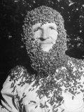 Ethan Andrews Wearing Beard of Bees