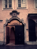 Entrance to Apartment House Where Mozart Was Born  Salzburg