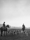 Fox Hunting, England Papier Photo par Mark Kauffman