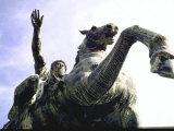 Bronze Equestrian Statue of Emperor Marcus Aurelius