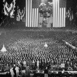 Men and Women Attending a National Convention of the American Legion