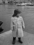 3 Year Old Boy Wearing Full Weather Gear