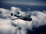 Excellent of Us Navy Plane  the Consolidated Pb2Y 2 Patrol Bomber  in Flight