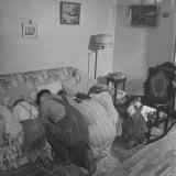 Charles C Todd and His Family  Praying in the Morning Before Breakfast