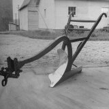 View of a Farmer's Plow