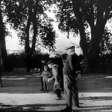 France's Favorite Outdoor Game  Boules  Played in Shade of Trees