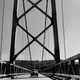 Peace River Bridge Along the Alcon Highway