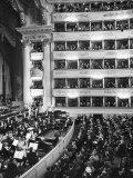 Audience at Performance at La Scala Opera House