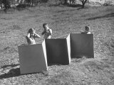 Fortress Made to Be Used For Children by Charles Eames