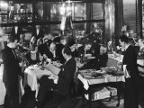 Waiters Serving at Marlborough House  a Speakeasy Haven For Drinking Socialites During Prohibition