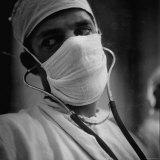 Anesthesiologist Dr Vincent J Collins  Attending to Patient at St Vincent's Hospital