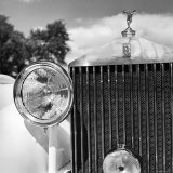 Detail of a 1930 Rolls Royce Mulliner Continental Tourer