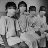 Victims of a Bomb in Hiroshima Waiting to Be Examined by ABCC