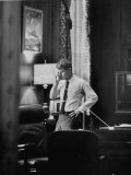 Attorney General Robert F Kennedy  Talking on the Telephone in His Office