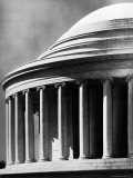 Detail of the Jefferson Memorial