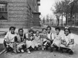 African American Girls Posing on the South Side of Chicago