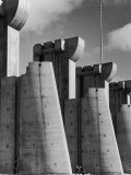 Fort Peck Dam  in the Missouri River: Image Used on First Life Magazine Cover