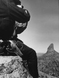 Prospector Travis Marlowe Continuing His Search in Superstition Mountains of Southern Arizona
