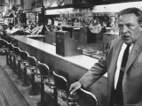 View of a Lunch Counter Being Boycotted