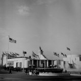 View Showing the Great Britain Pavilion at the New York World's Fair