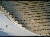 90 Meter Ski Jump During the 1972 Olympics
