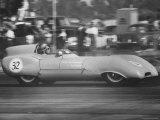 Joan Galloway in Race Driving Lotus Mark XI