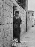 Israeli Man Delivering Milk