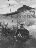Gov Luther H Hodges Fishing at Governors&#39; Conference