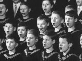 Choir of Boys Singing at the St Thomas Cathedral