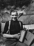 Accordion Played by Tristan Da Cunha Islander