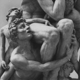 "Detail Sculpture ""Ugolino"" by Jean Baptiste Carpeaux at Music Des Beaux Arts"