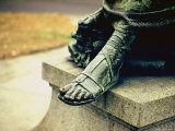 Imperial Washington Portfolio  DC Views  1952: Statue Detail  Foot