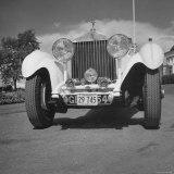 Photograph of a 1930 Rolls-Royce Phantom II Mulliner Continental Tourer  c1958