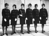 London Police Women Posing in New Uniforms