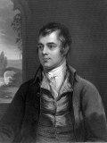 Portrait of Robert Burns  Scottish Poet