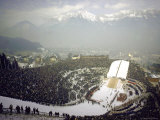 Opening Ceremonies of the 1964 Winter Olympics in Bergisel Stadium