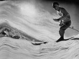 Jack Wilderman Skiing on Ridge Run at Mountain Badly
