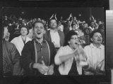 Chicago Fans Cheer White Sox at Comiskey Park