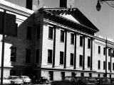 Greek Revival Facade  with Pilasters and Pediment  of the San Francisco Mint